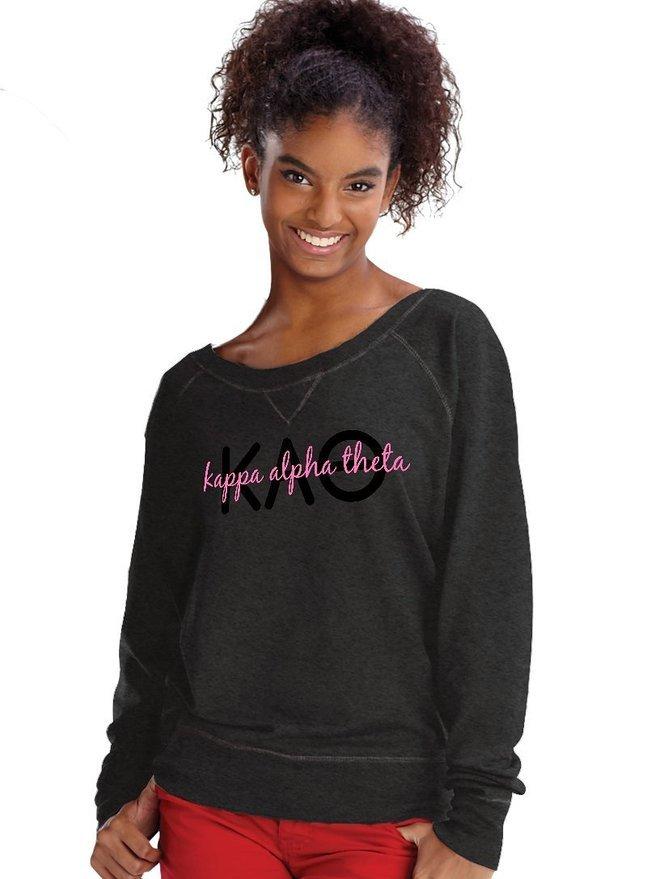 Kappa Alpha Theta crewneck sweatshirt