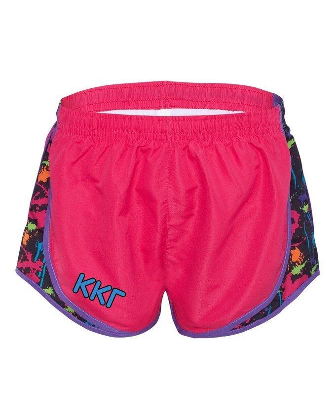 Kappa Kappa Gamma women's running shorts