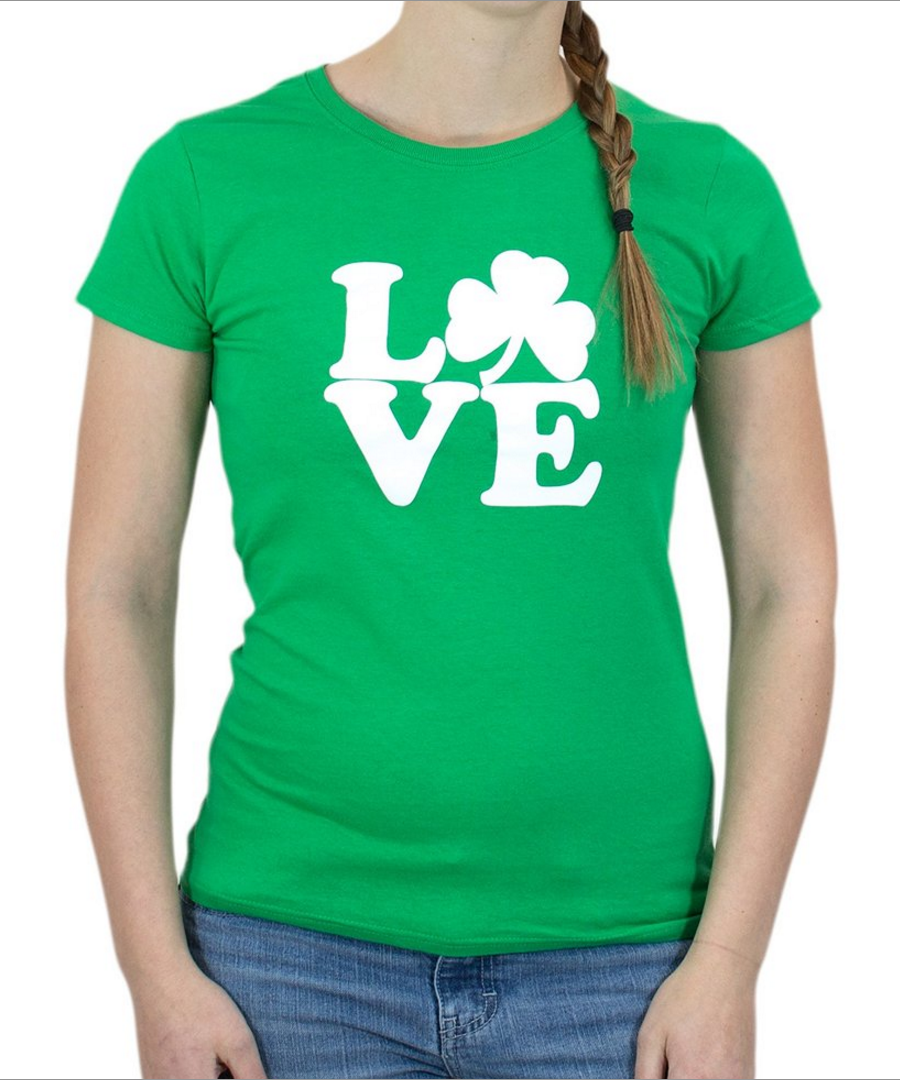 Irish Love Ladies' T-shirt