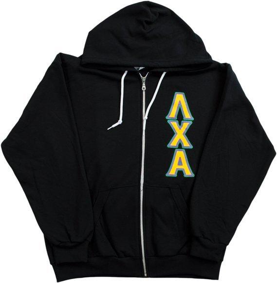 Lambda Chi Alpha full zip sweatshirt