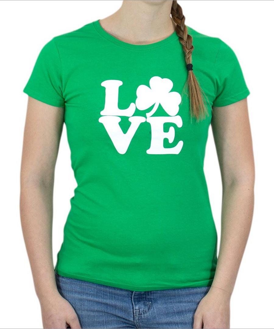 Irish Love Ladies' T-shirt
